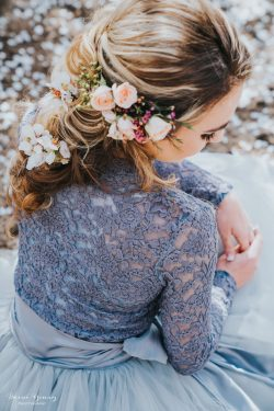 Wedding Hair Idea - Bessie Young Photography
