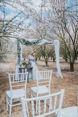 Cherry Blossom Wedding by Bessie Young