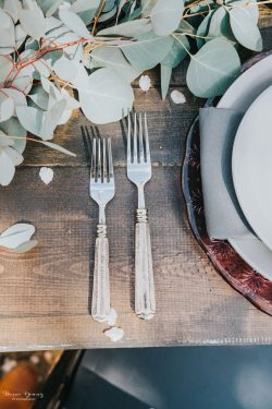 Wedding Place Setting - Bessie Young