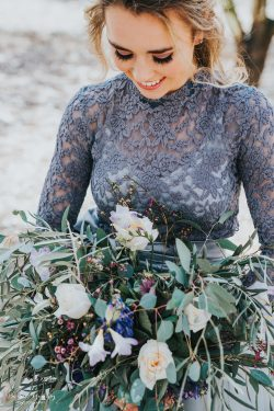 Eucalyptus Wedding Bouquet Bessie Young Photography