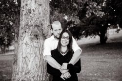 Woodward Park Couple Portrait Session by Bessie Young Photography
