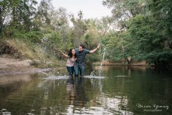 Knights Ferry Engagement Oakdale California by Bessie Young Photography