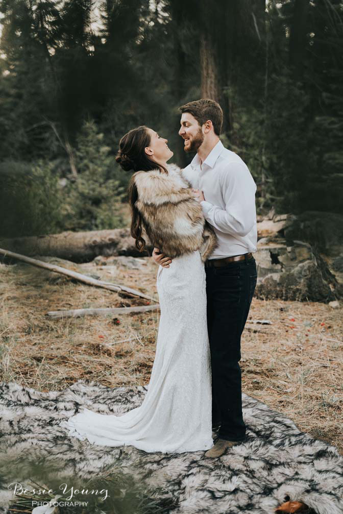 Mountain Elopement in Shaver Lake California by Bessie Young Photography Wild Elopement - Adventure Elopement-90.jpg