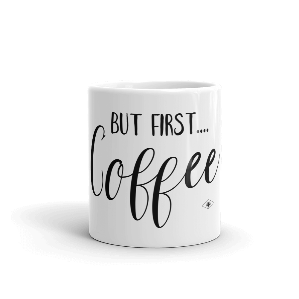 But first Coffee Mug by Bessie Young Photography