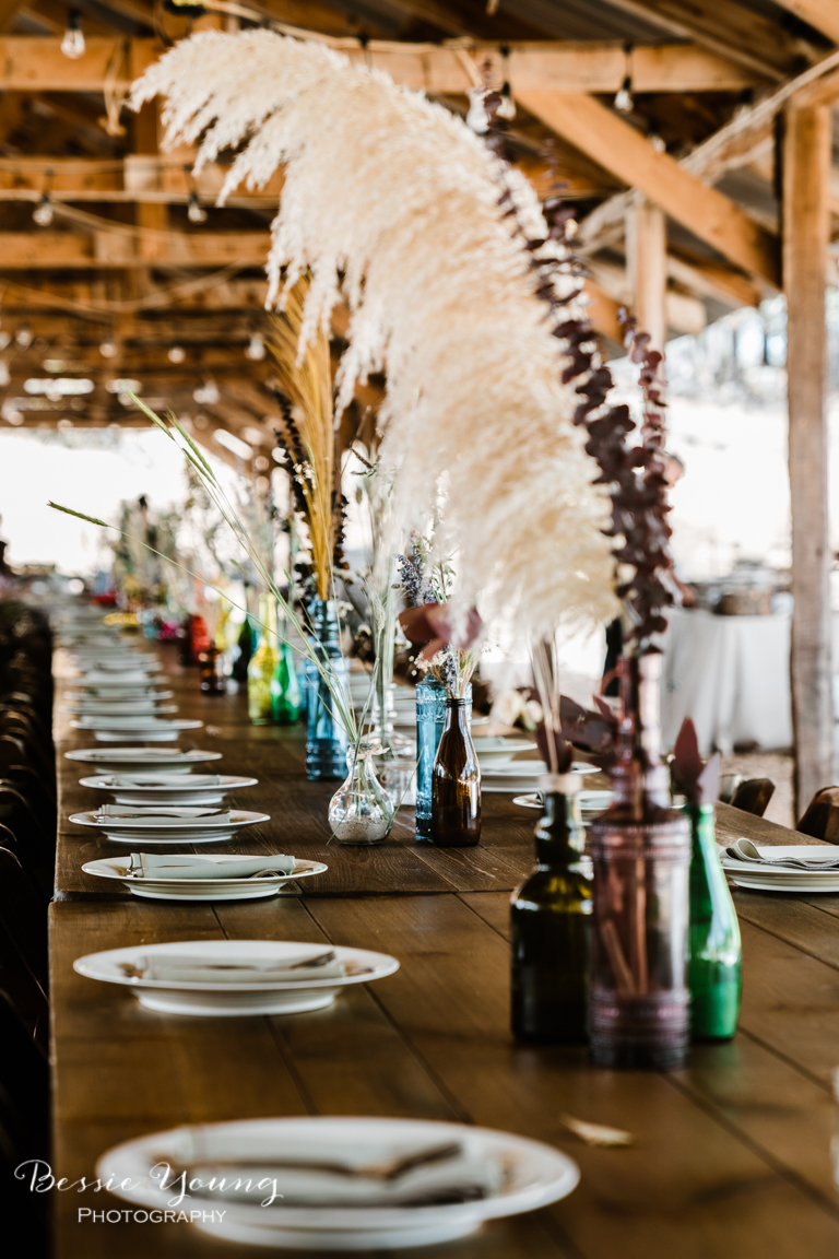 Bohemian Wedding Table Inspiration at Zuni Vineyards Wedding Venue by Bessie Young Photography