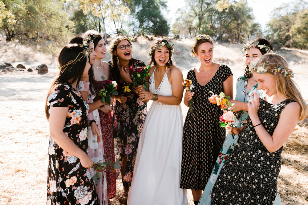 Mixed Matched Wedding Inspiration by Bessie Young Photography