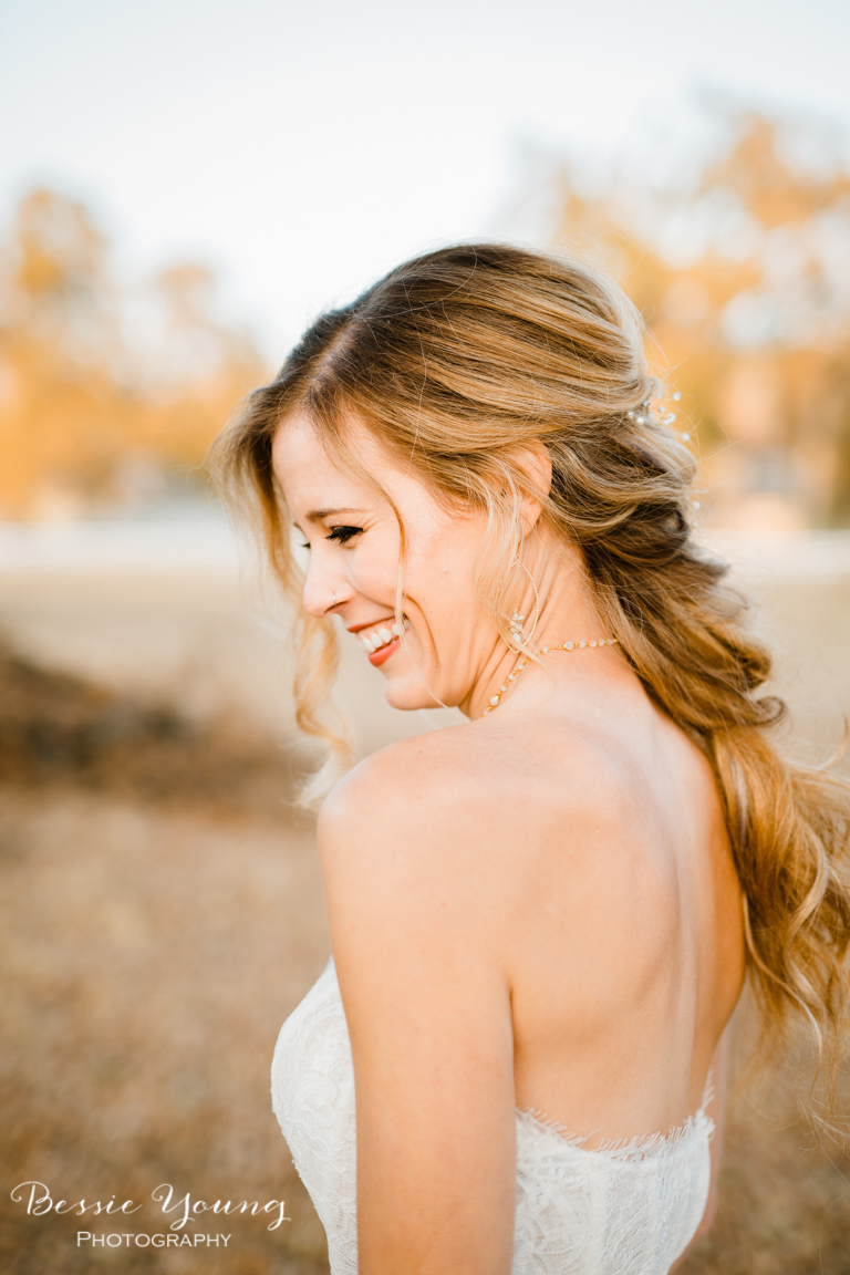 Braided Blonde Locks Bridal Hair Inspiration Long Braid Inspiration for Wedding by Bessie Young Photography