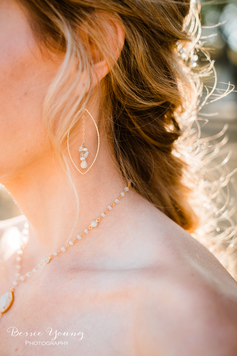 Handmade Wedding Jewelry Inspiration by Bessie Young Photography