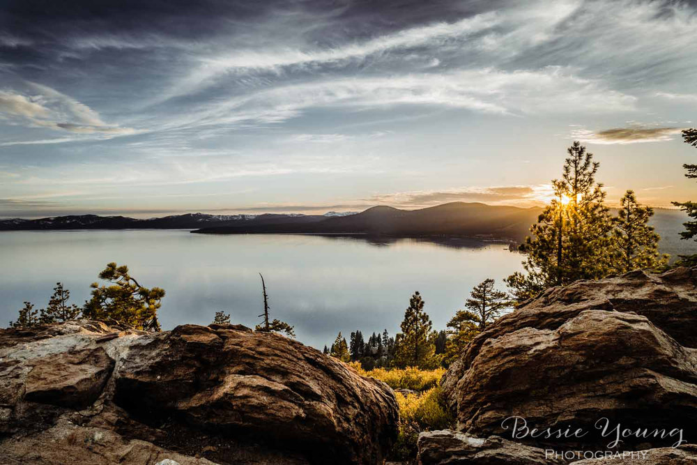 North Shore Tahoe Lake sunset photograph by Bessie Young Photography 2018 landscape photography.jpg