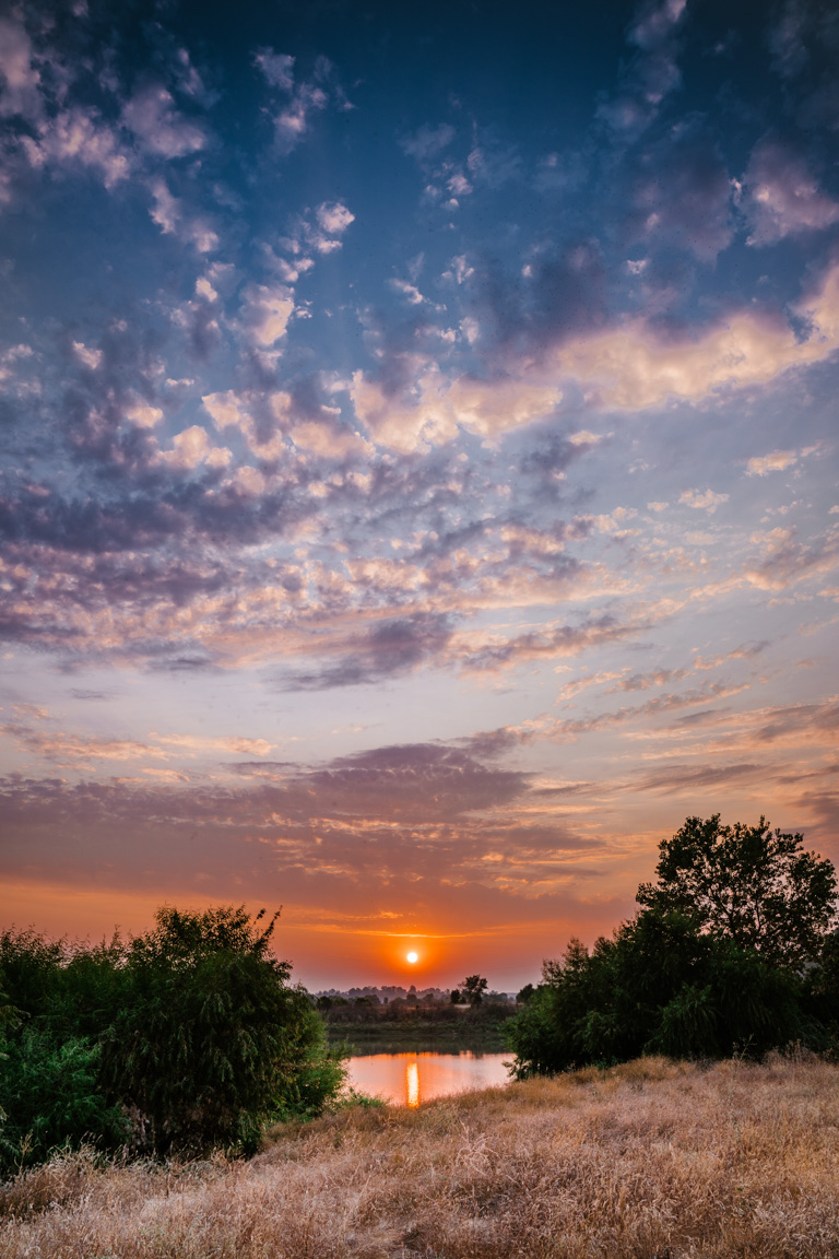 San Joaquin River Parkway Sunset by Bessie Young Photography 2018 - Fresno California.jpg