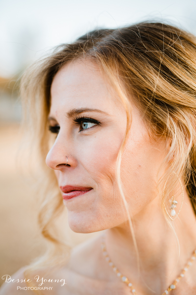 How to choose your wedding makeup by Bessie Young PHotography