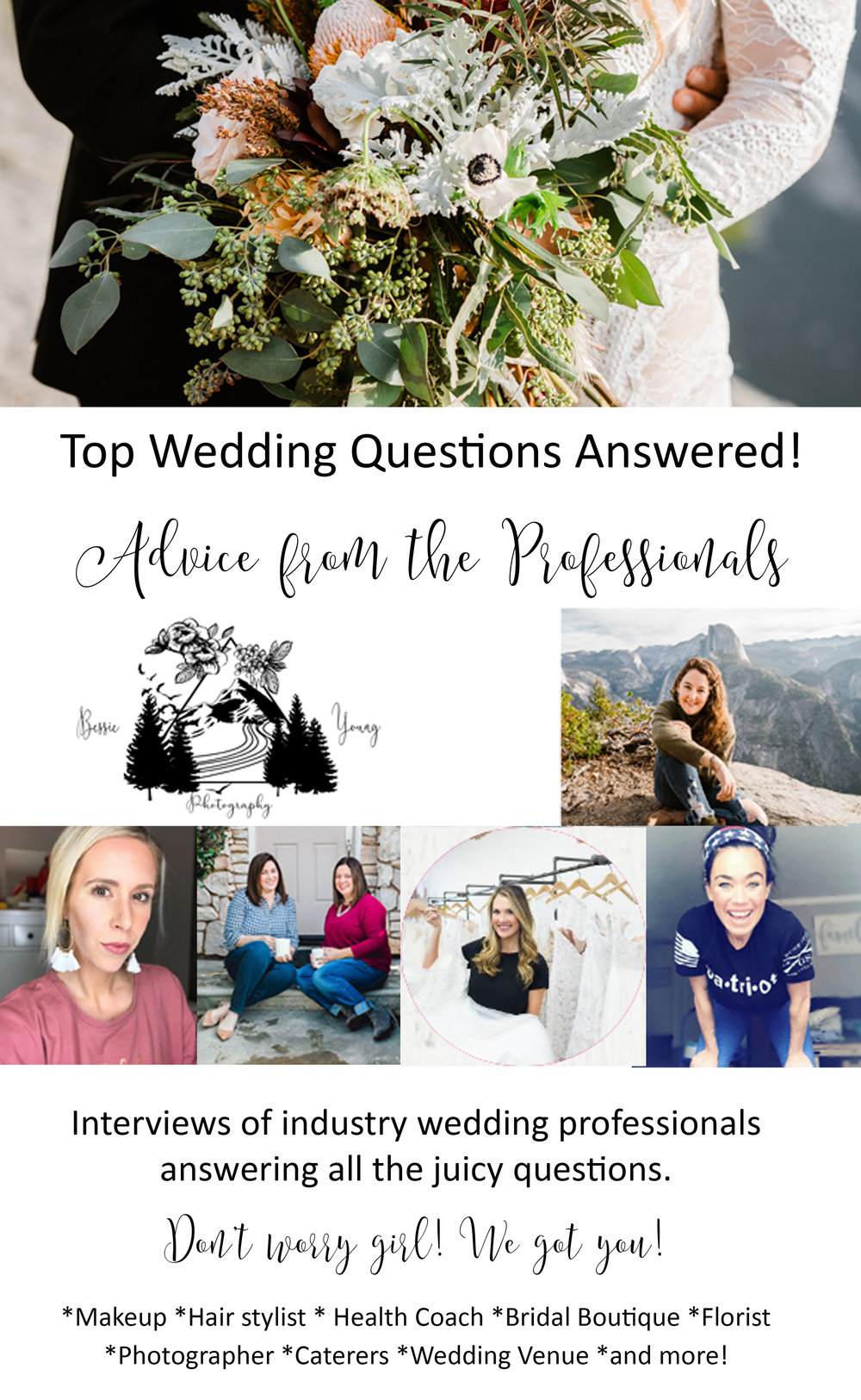 Advice from a PRO - All your wedding questions answered!