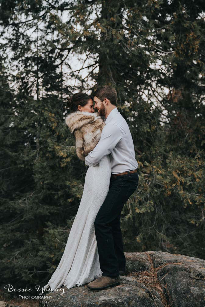 Wild Mountain Elopement | Shaver Lake | Yosemite Elopement Photographer - Liz + Ryan