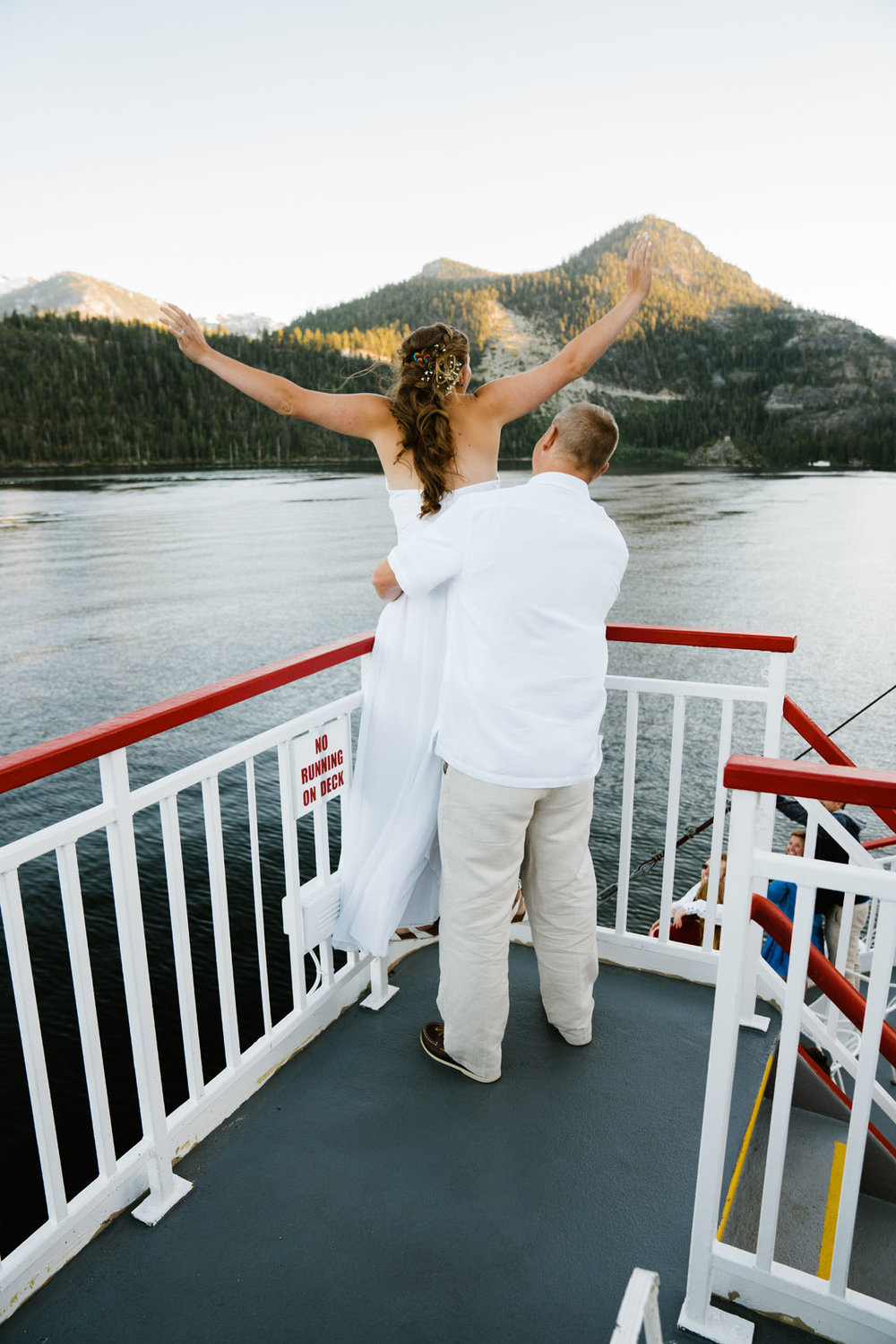 Zephyr Cove Wedding South Lake Tahoe by Bessie Young Photography