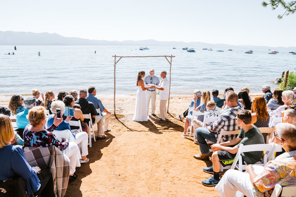 Zephyr Cove Wedding M.S. Dixie III South Lake Tahoe by Bessie Young Photography