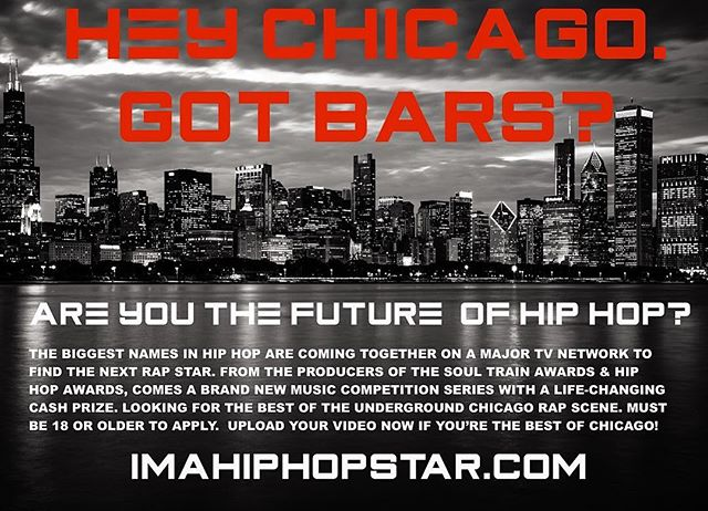 #Chicago rappers we're coming back for you. Tag your favorite Chicago MC.  #midwesthiphop #casting #tv #chicagorapper #redeyechicago #chicagowest #chicagobulls #chicagoland #hiphop #worldstar #hiphopculture