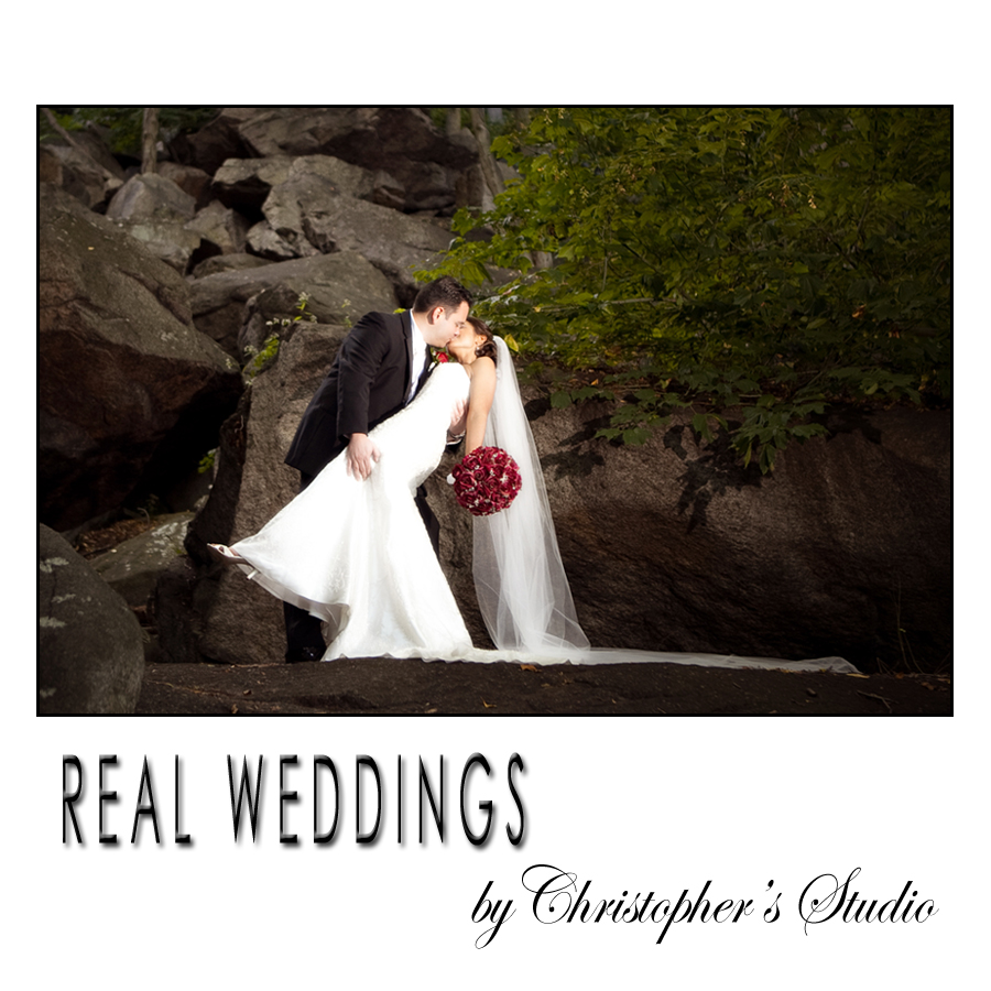 Wedding portraits by Christopher's Studio Pearl River, New York