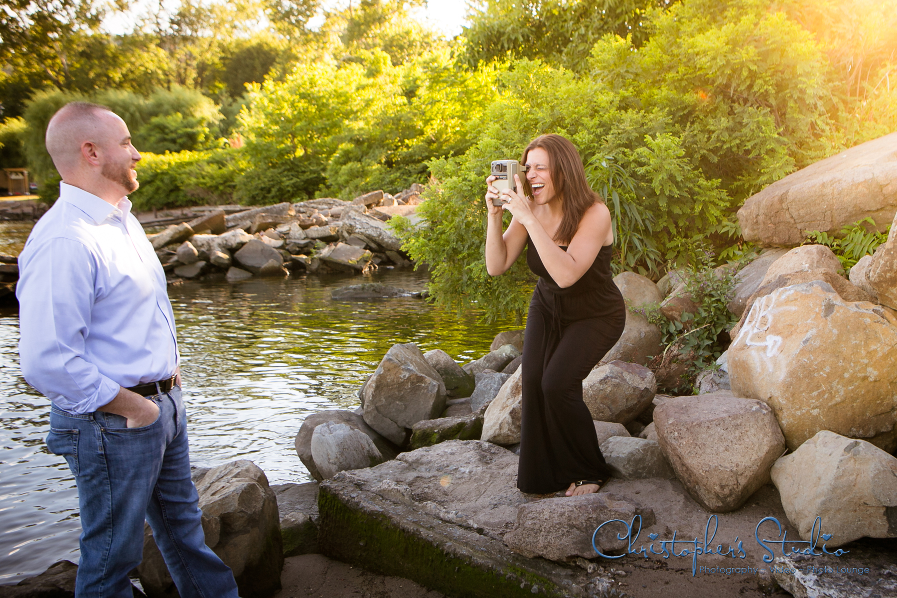 Rockland County Engagement Photographer ~ Christopher's Studio