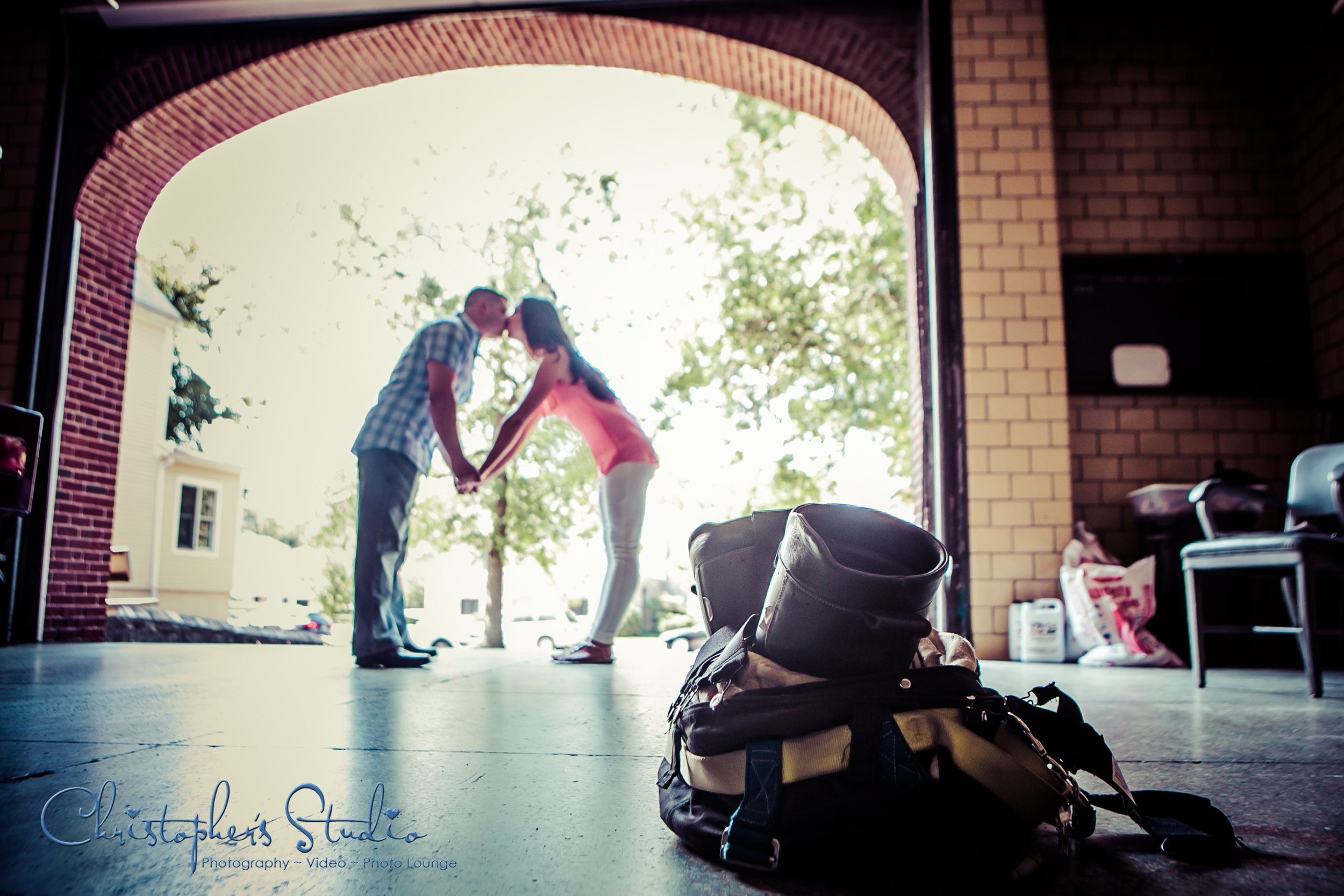 Fire House Engagement Shoot in Bronxville NY