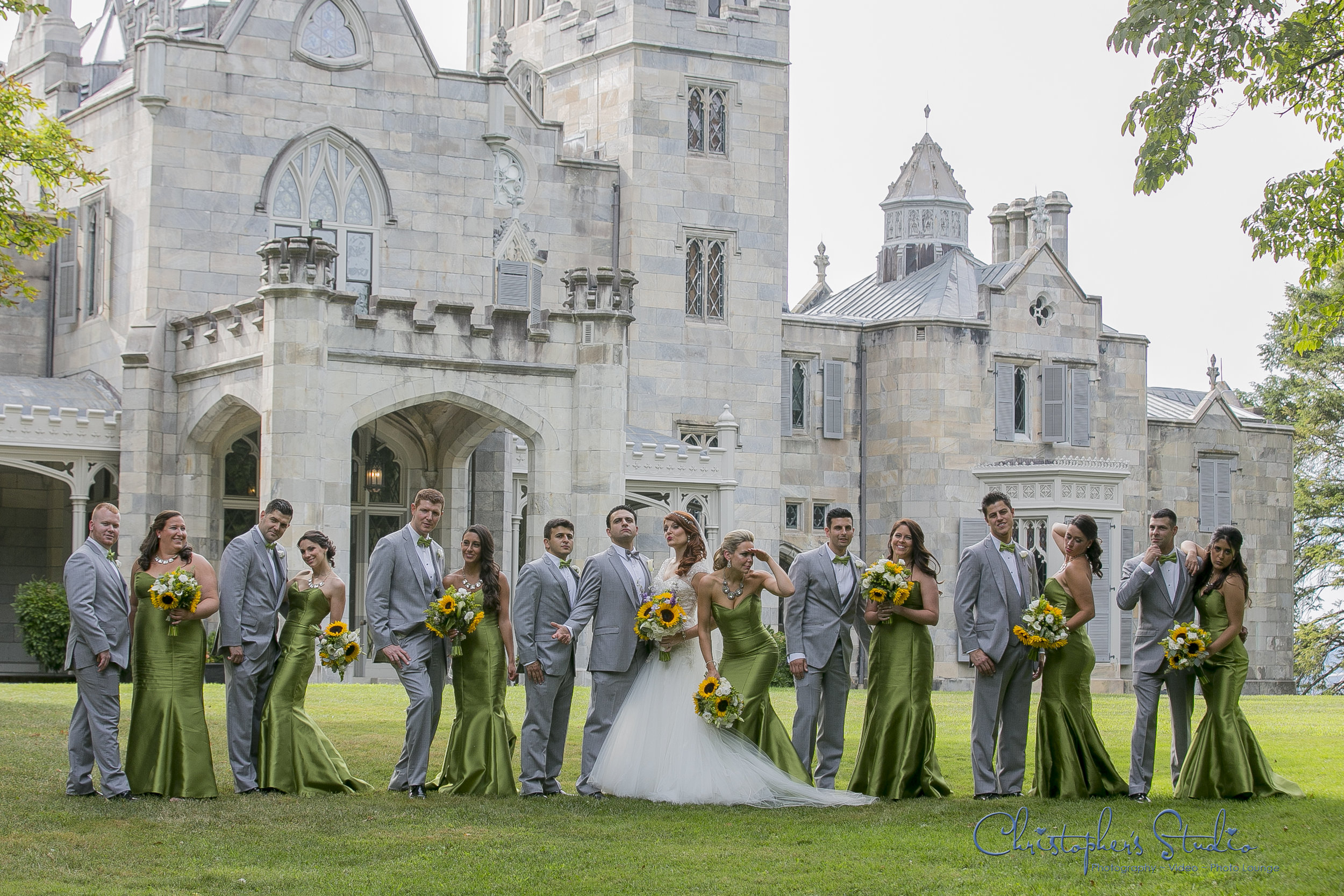 Lyndhurst Castle Wedding Photographer