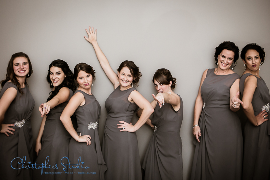 bridesmaids pose from the movie