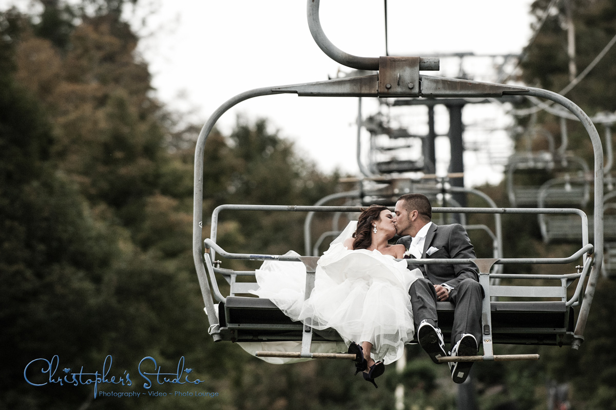 Ski Lodge Wedding Photographer