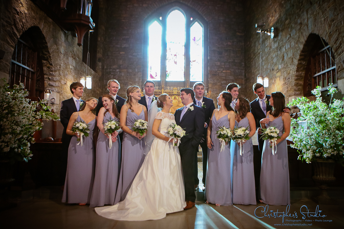 Bridal Party at Christ Church