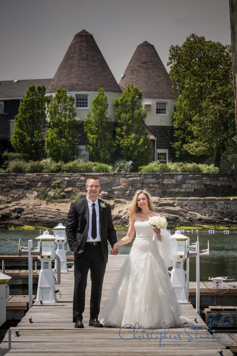 Boat Dock Wedding Photography
