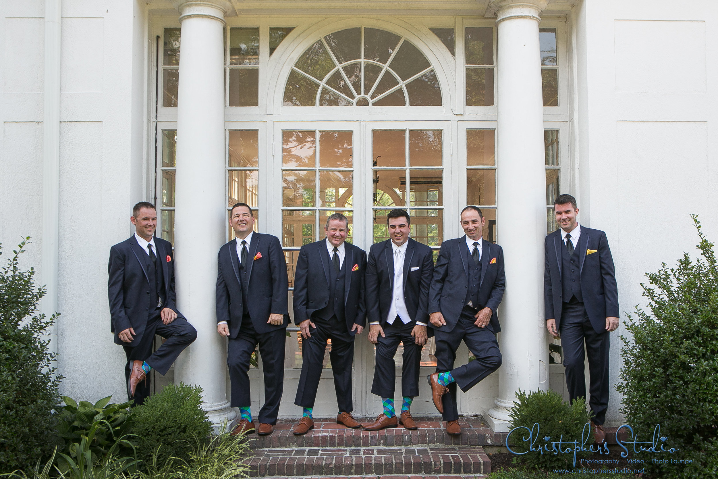 Groomsmen Photography at CV Rich Mansion