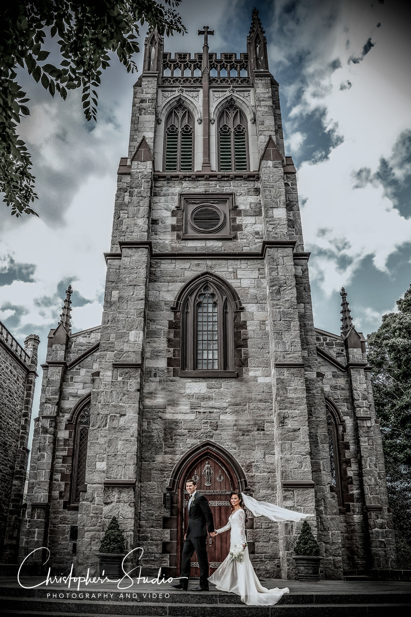 Wedding Ceremony at Rose Hill Fordham University
