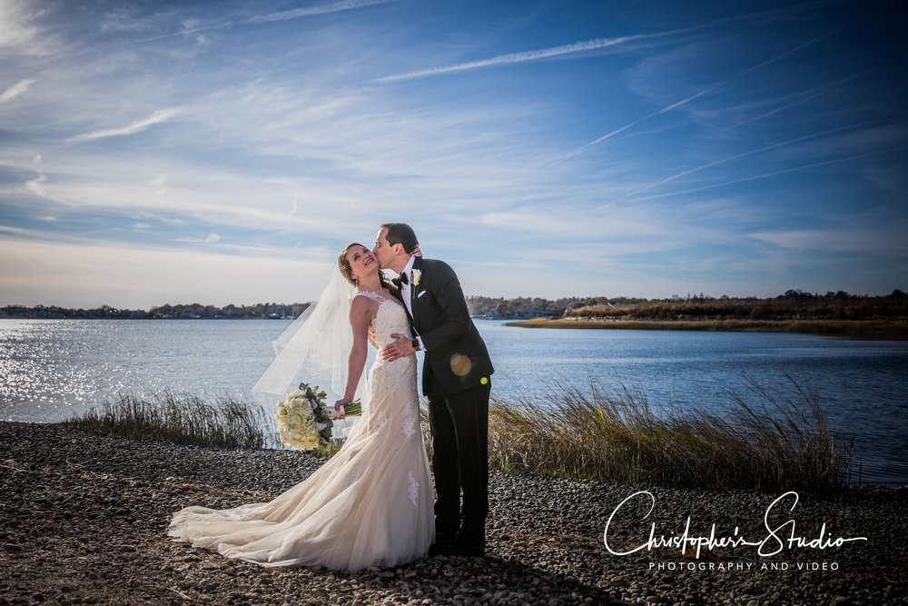 We love the shot here taken in Fairfield County CT. Wedding photography on the Long Island Sound