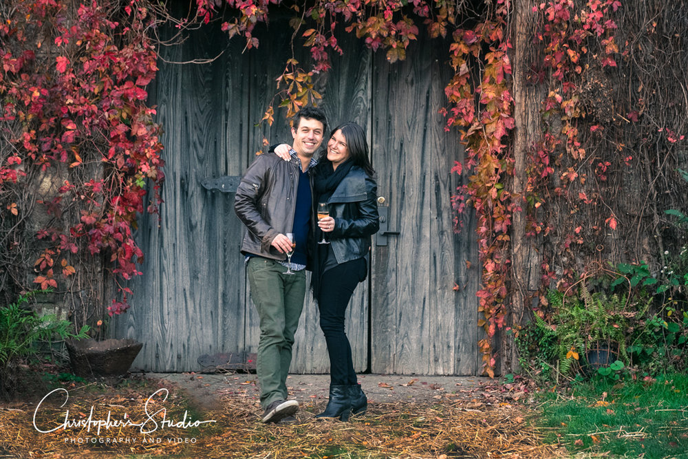 Blue Hill Stone Barns Engagement Photography