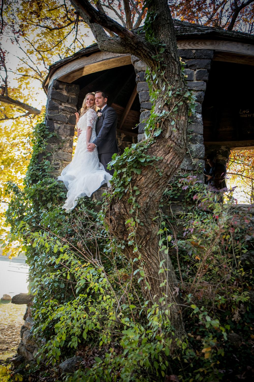 glen-island-harbor-park-trees-wedding-photographs