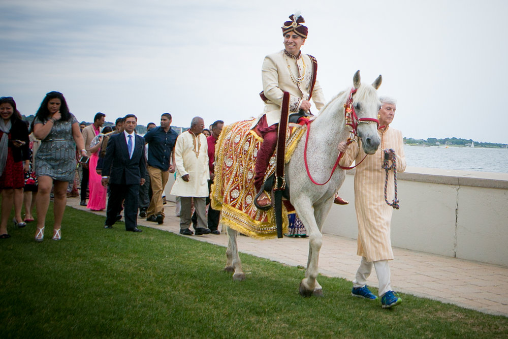 barat_ceremony_white_horse_groom