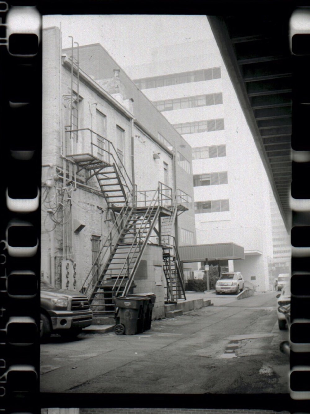 Some negatives I developed back in the day.