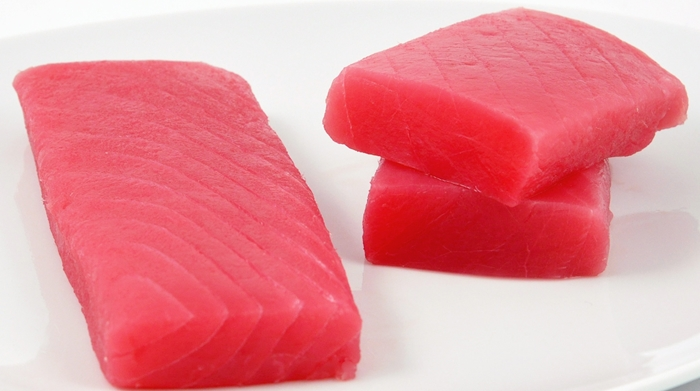Fresh Yellowfin 'Ahi' Tuna Saku
