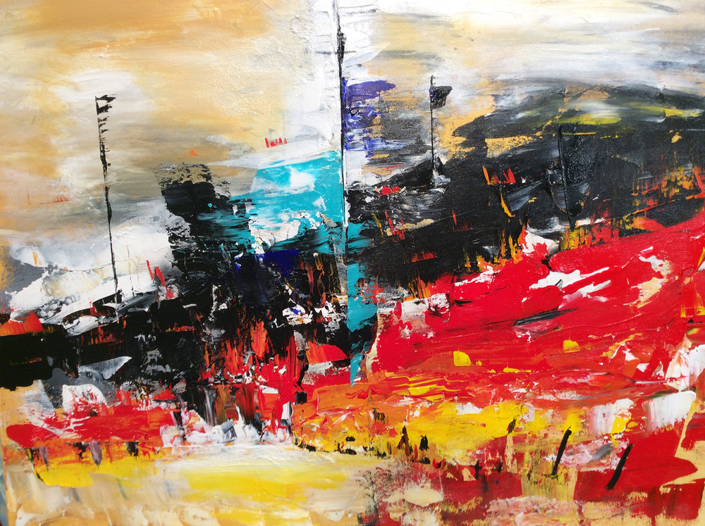 Raging Fires - SOLD
