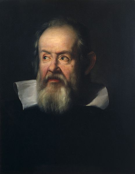 Galileo Galilei (1564-1642). Oil painting Justus Sustermans, 1635.