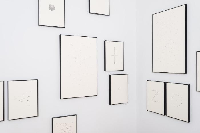 Jorge Mendez Blake, Dismantling Gorostiza, 2017. Installation view 1301PE.