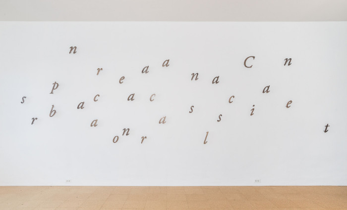 Jorge Mendez Blake, Canciones para cantar en las barcas [Songs to Sing on Boats], 2017, Bronze, 72 x 228 inches approx., Edition of 3, 1 AP