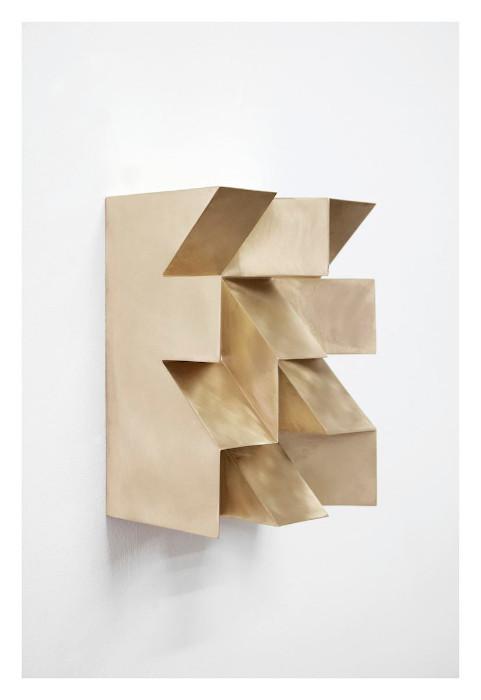 Jan Albers, thEkidsarEhighOnlight, 2016, Bronze, 15.75 x 11.81 x 7.87 inches, edition of 5.