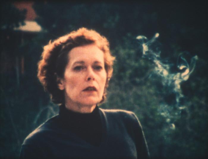 Manon de Boer, Sylvia, March 1, 2001, Hollywood Hills and Sylvia, March 2, 2001, Hollywood Hills, 2001-2005, 16 mm film, colour, silent, 4 min.