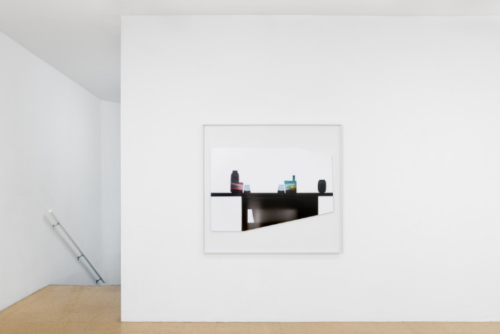 Uta Barth, In the Light and Shadow of Morandi (17.12), 2017, 48.75 x 52.75 x 1.75 inches (framed), edition of 6, 2 APs. Installation view 1301PE.