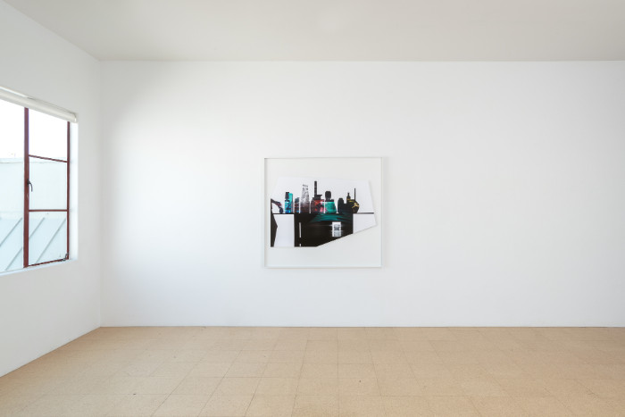 Uta Barth, In the Light and Shadow of Morandi (17.11), 2017, 48.75 x 52.75 x 1.75 inches (framed), edition of 6, 2 APs. Installation view 1301PE.
