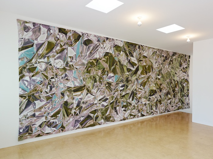 Pae White, Spearmint to Peppermint, 2013, cotton & polyester, 114.17 x 322.83 in, 290 x 820 cm