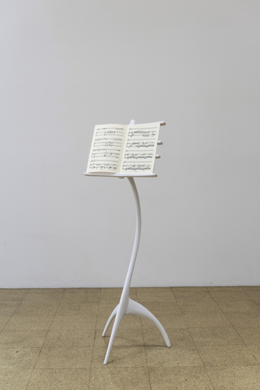 Ana Prvacki, Music Stand and Sapho Score, 2015