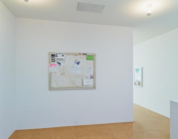 Fiona Connor, Community Notice Board, 2015. Installation view 1301PE.