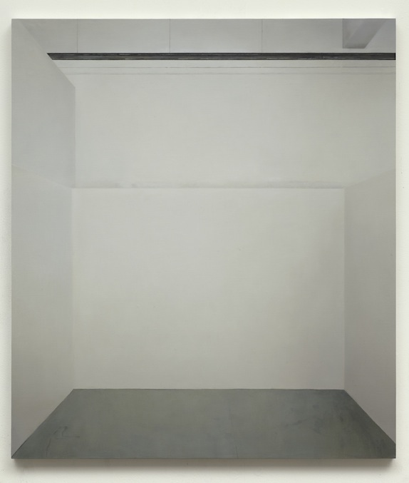 Paul Winstanley, Art School 26, 2014, Oil and wax on canvas over panel, 26.8 x 23.6 in, 68 x 59.5 cm