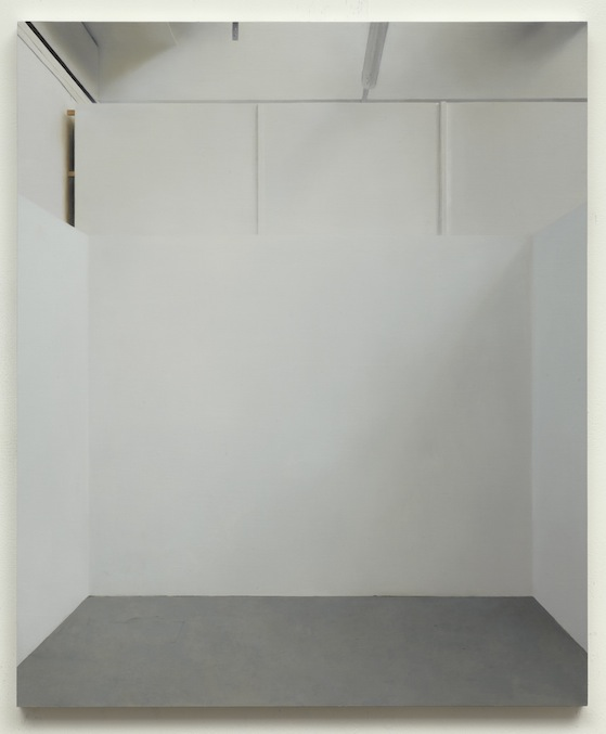 Paul Winstanley, Art School 24, 2014, Oil and wax on canvas over panel, 26.9 x 22.4 in, 68.4 x 57 cm