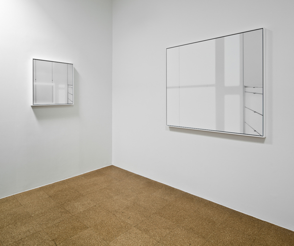 Uta Barth, Installation view upstairs 1301PE, 2011